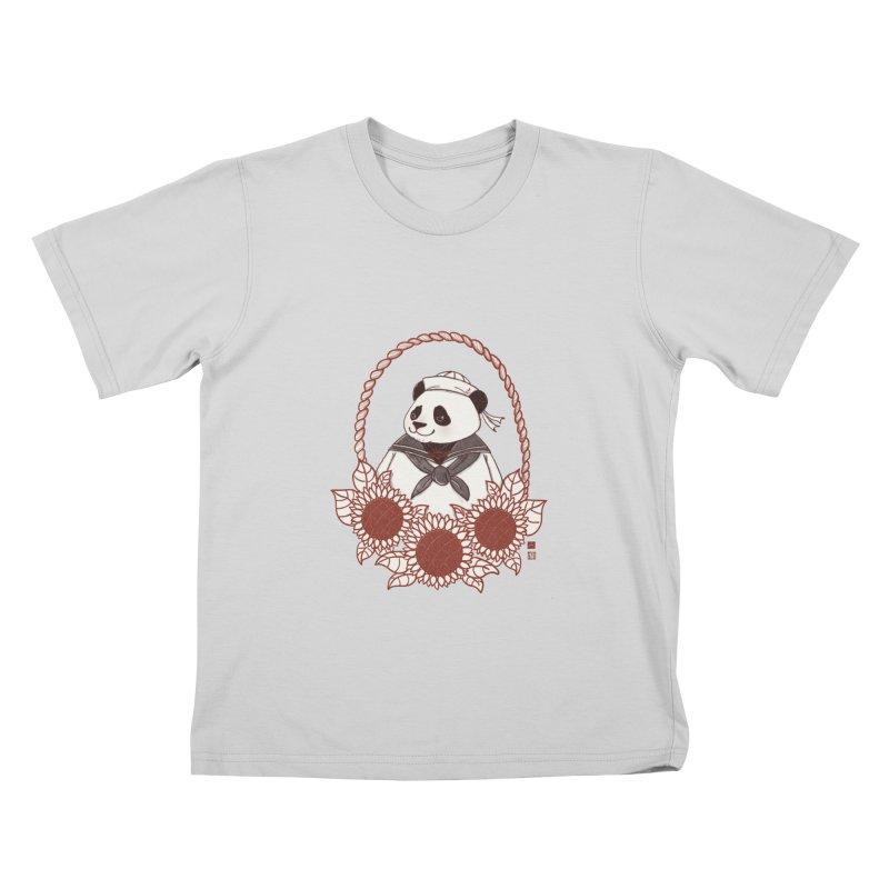 Panda Revolution EXTRA 2 D Kids T-Shirt by xiaobaosg
