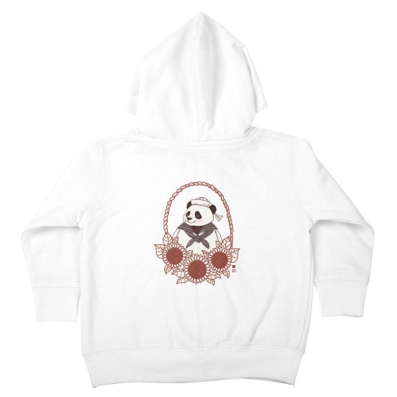 Panda Revolution EXTRA 2 D Kids Toddler Zip-Up Hoody by xiaobaosg