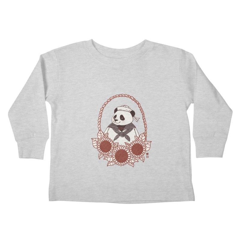 Panda Revolution EXTRA 2 D Kids Toddler Longsleeve T-Shirt by xiaobaosg