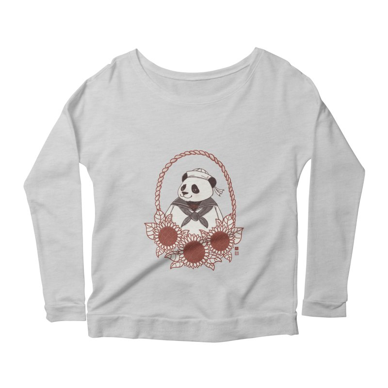 Panda Revolution EXTRA 2 D Women's Scoop Neck Longsleeve T-Shirt by xiaobaosg
