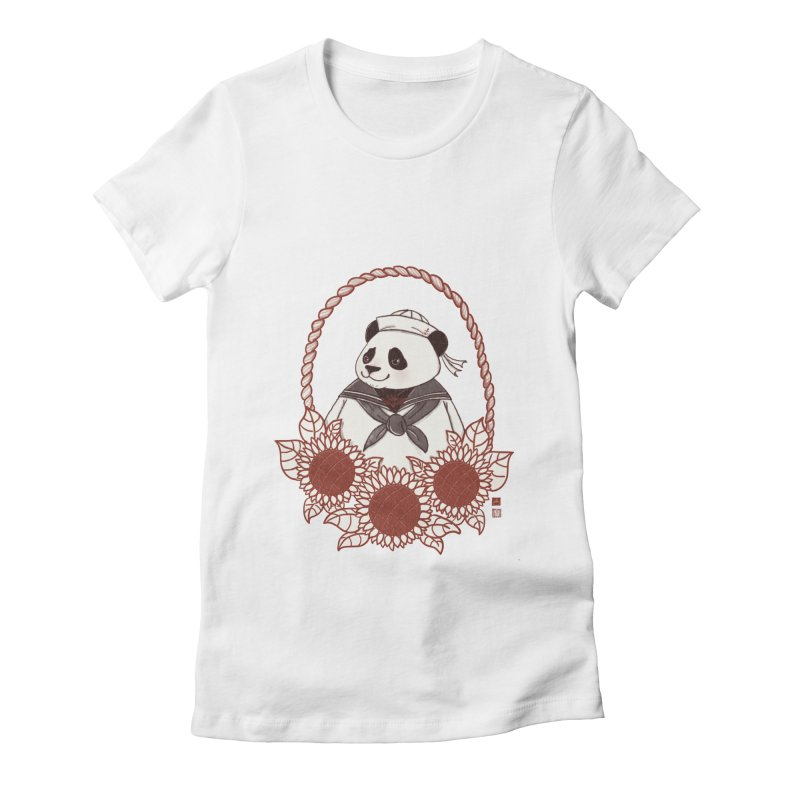 Panda Revolution EXTRA 2 D Women's Fitted T-Shirt by xiaobaosg