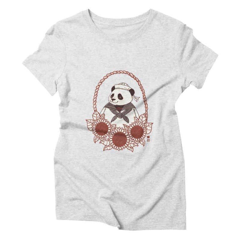 Panda Revolution EXTRA 2 D Women's Triblend T-Shirt by xiaobaosg