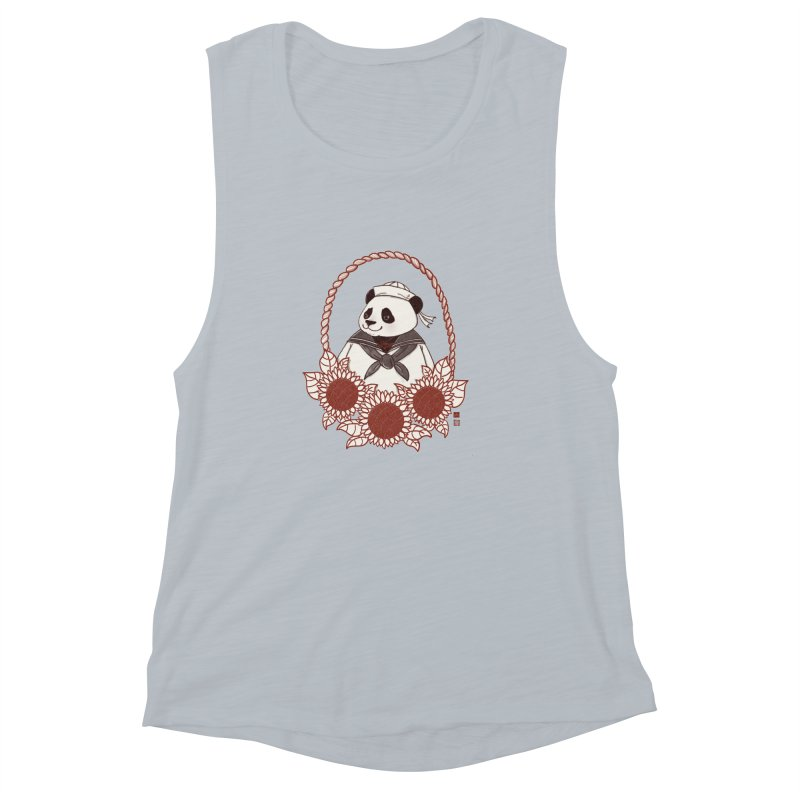 Panda Revolution EXTRA 2 D Women's Muscle Tank by xiaobaosg