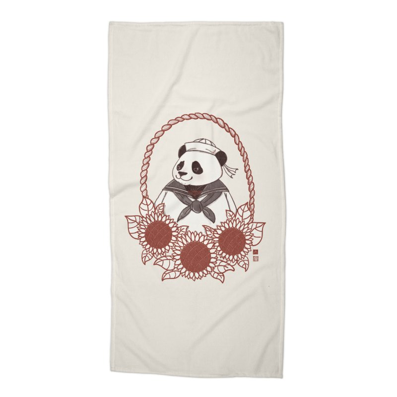 Panda Revolution EXTRA 2 D Accessories Beach Towel by xiaobaosg