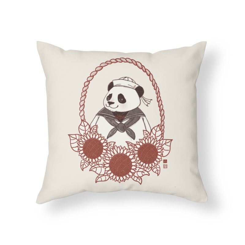 Panda Revolution EXTRA 2 D Home Throw Pillow by xiaobaosg