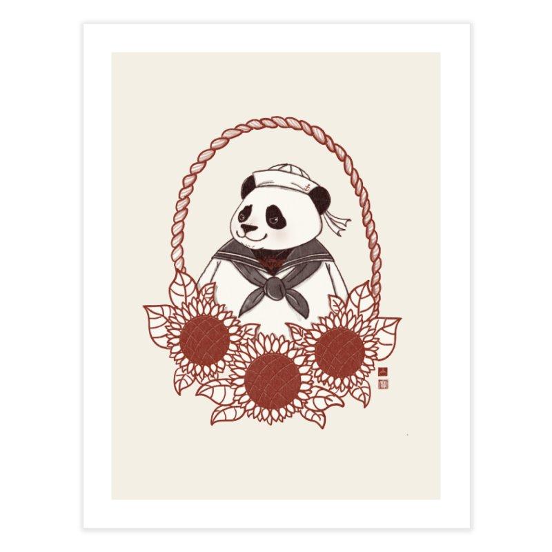 Panda Revolution EXTRA 2 D Home Fine Art Print by xiaobaosg