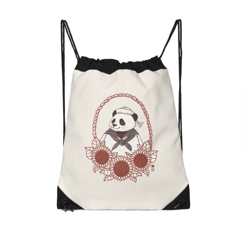 Panda Revolution EXTRA 2 D Accessories Drawstring Bag Bag by xiaobaosg