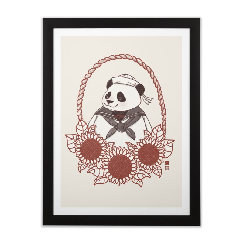 Panda Revolution EXTRA 2 D Home Framed Fine Art Print by xiaobaosg