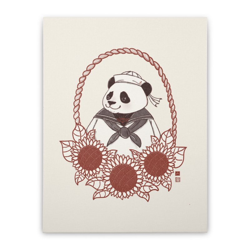 Panda Revolution EXTRA 2 D Home Stretched Canvas by xiaobaosg