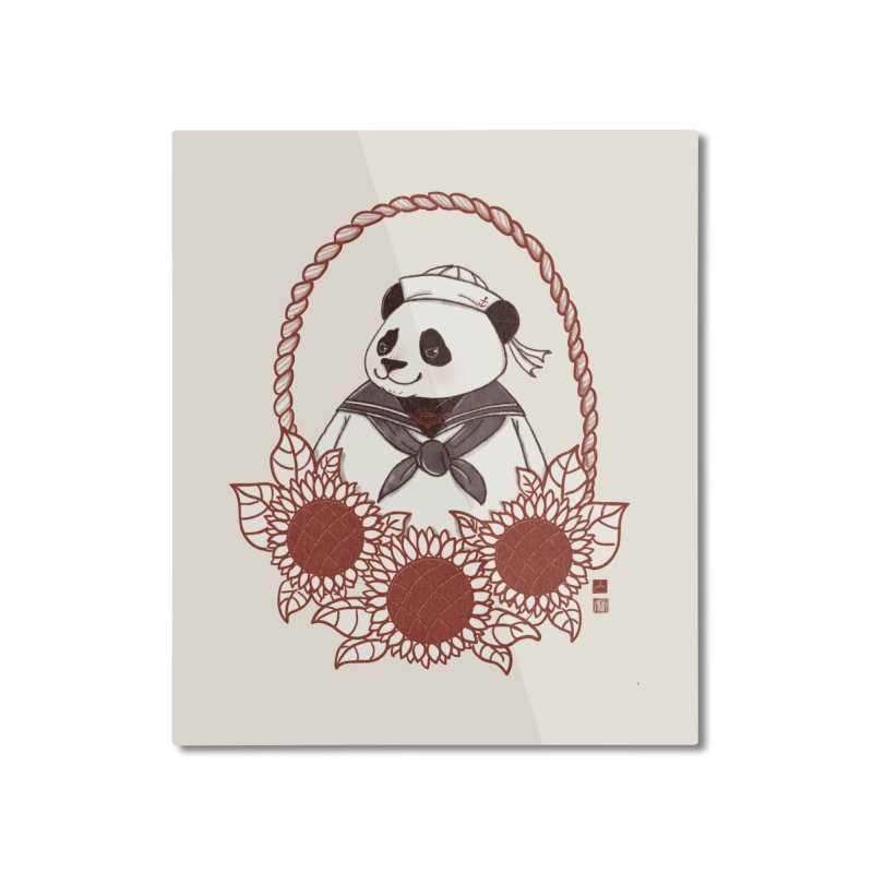 Panda Revolution EXTRA 2 D Home Mounted Aluminum Print by xiaobaosg