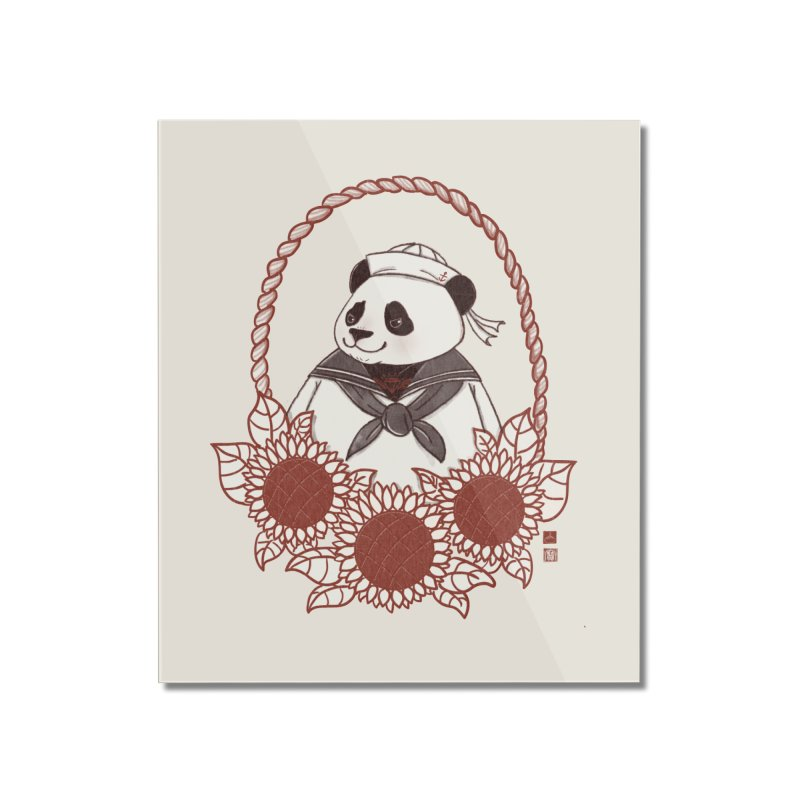 Panda Revolution EXTRA 2 D Home Mounted Acrylic Print by xiaobaosg