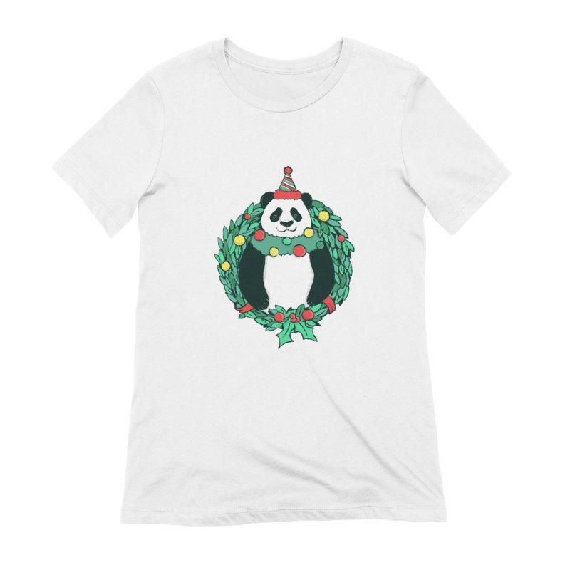 Beary Christmas Women's Extra Soft T-Shirt by xiaobaosg