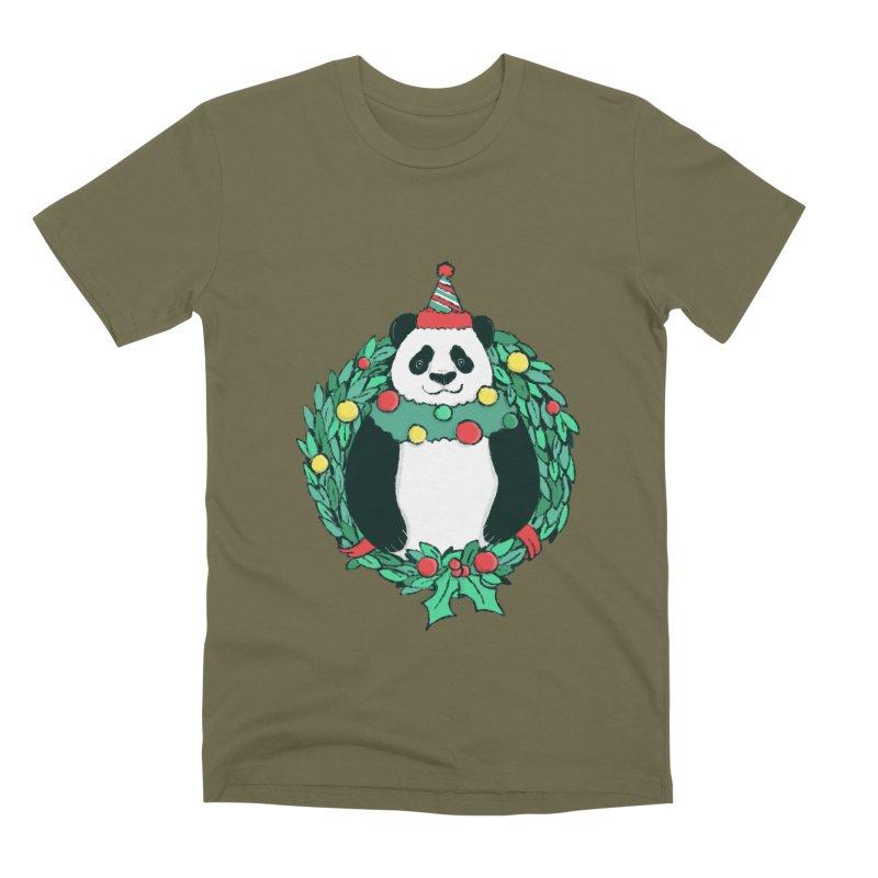 Beary Christmas Men's Premium T-Shirt by xiaobaosg