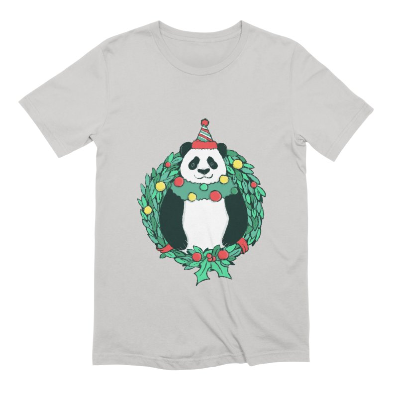 Beary Christmas Men's Extra Soft T-Shirt by xiaobaosg