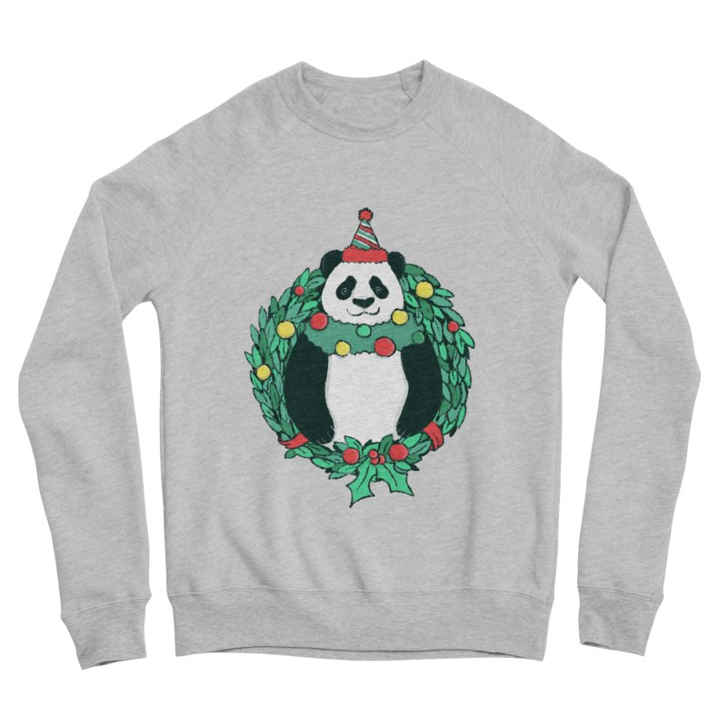 Beary Christmas Women's Sponge Fleece Sweatshirt by xiaobaosg