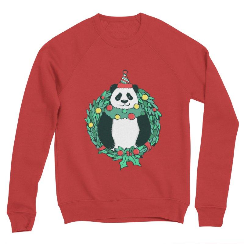 Beary Christmas Men's Sponge Fleece Sweatshirt by xiaobaosg