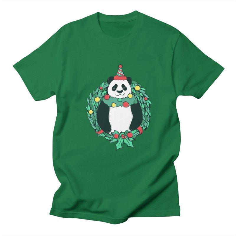 Beary Christmas Men's T-Shirt by xiaobaosg
