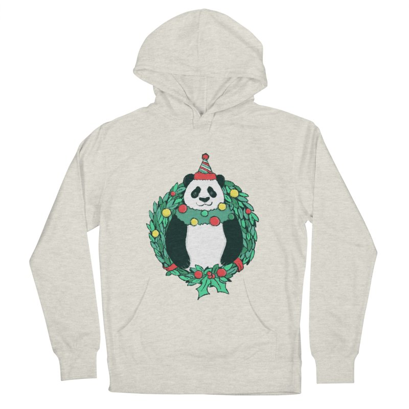 Beary Christmas Men's French Terry Pullover Hoody by xiaobaosg