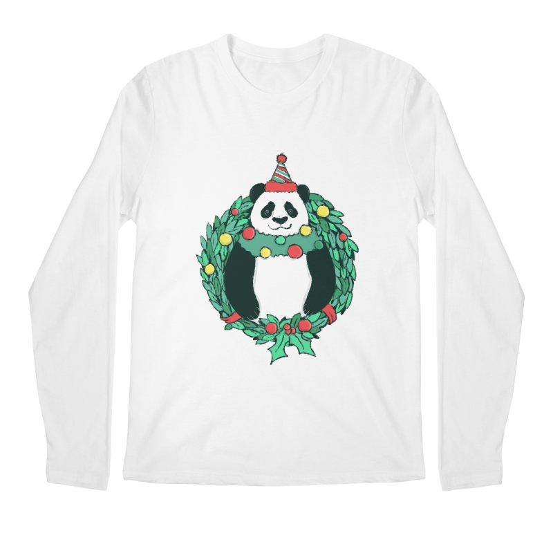 Beary Christmas Men's Regular Longsleeve T-Shirt by xiaobaosg