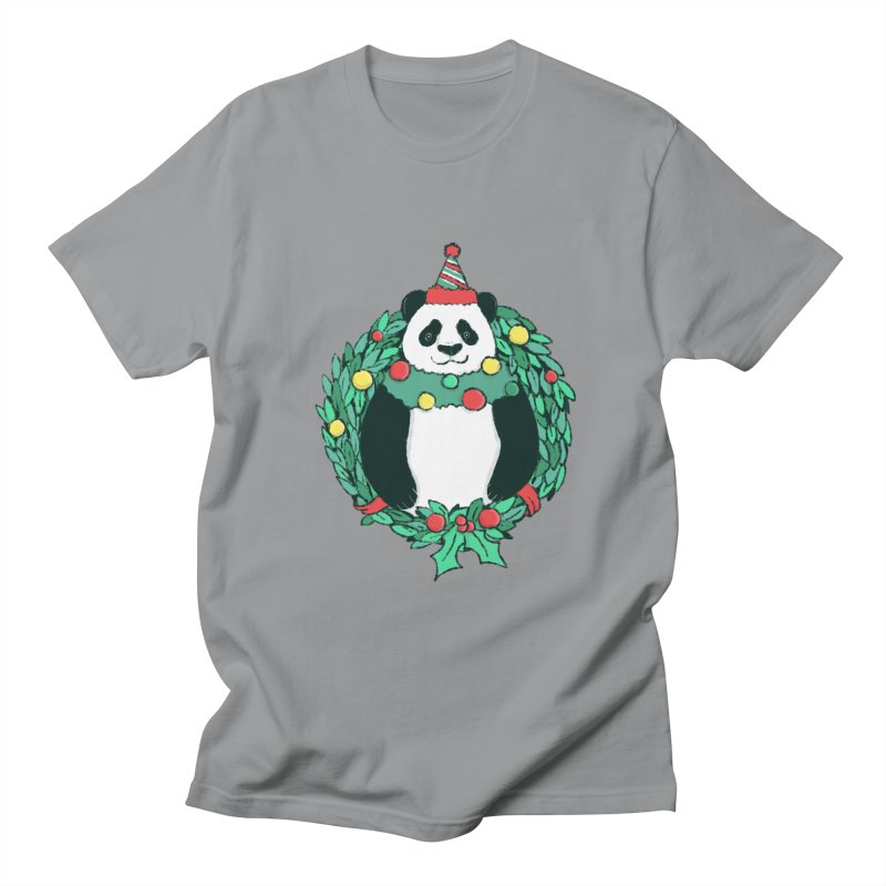 Beary Christmas Men's Regular T-Shirt by xiaobaosg