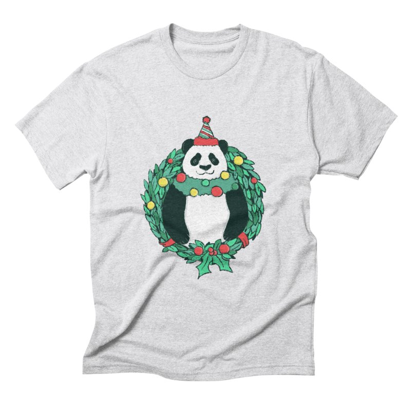 Beary Christmas Men's Triblend T-Shirt by xiaobaosg