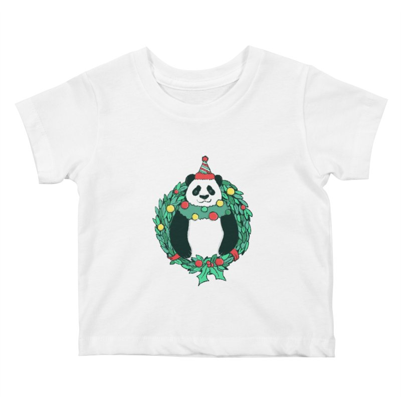 Beary Christmas Kids Baby T-Shirt by xiaobaosg