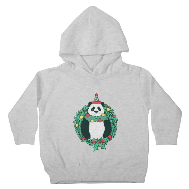 Beary Christmas Kids Toddler Pullover Hoody by xiaobaosg