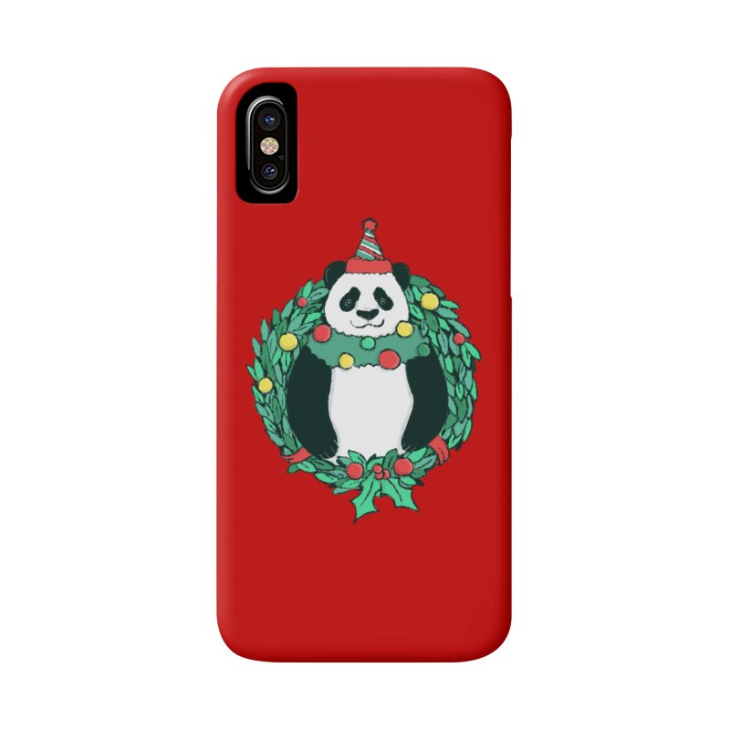 Beary Christmas Accessories Phone Case by xiaobaosg
