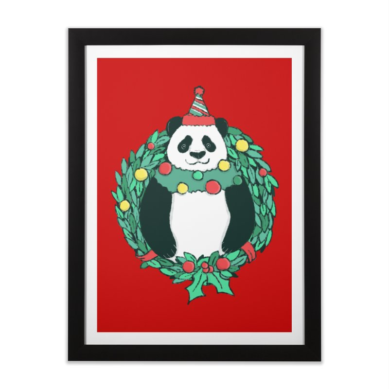 Beary Christmas Home Framed Fine Art Print by xiaobaosg