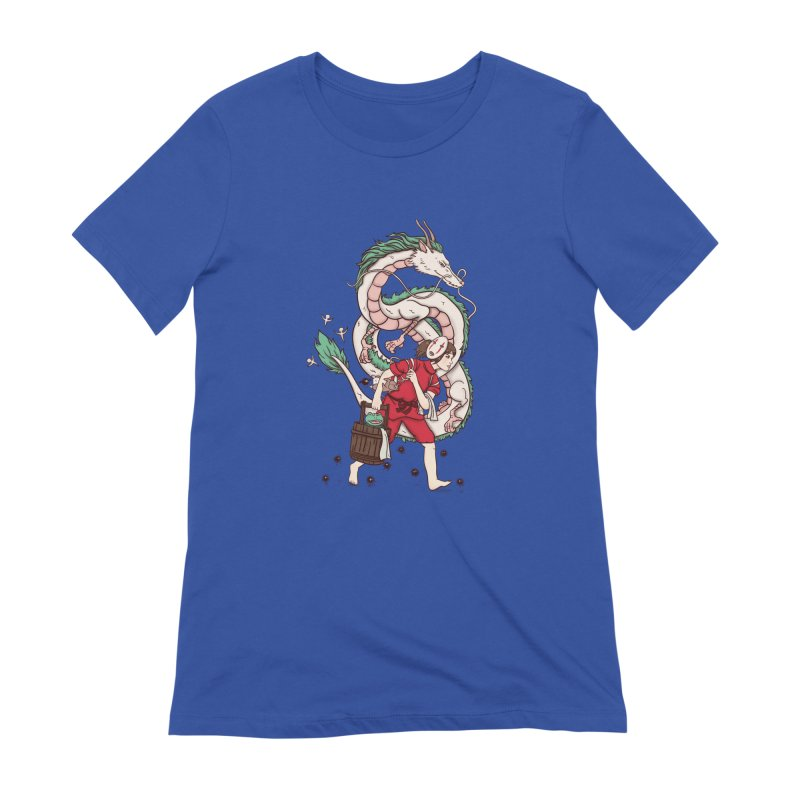 Sen to the rescue Women's Extra Soft T-Shirt by xiaobaosg