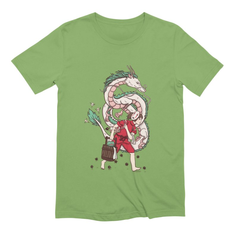 Sen to the rescue Men's Extra Soft T-Shirt by xiaobaosg