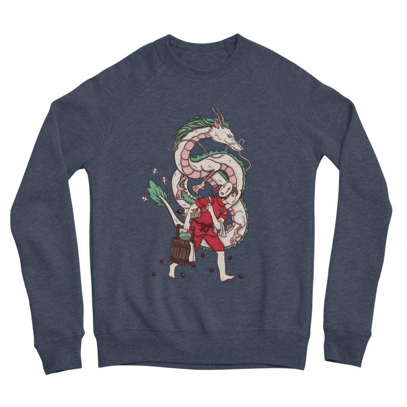 Sen to the rescue Men's Sponge Fleece Sweatshirt by xiaobaosg