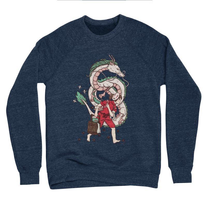 Sen to the rescue Women's Sponge Fleece Sweatshirt by xiaobaosg