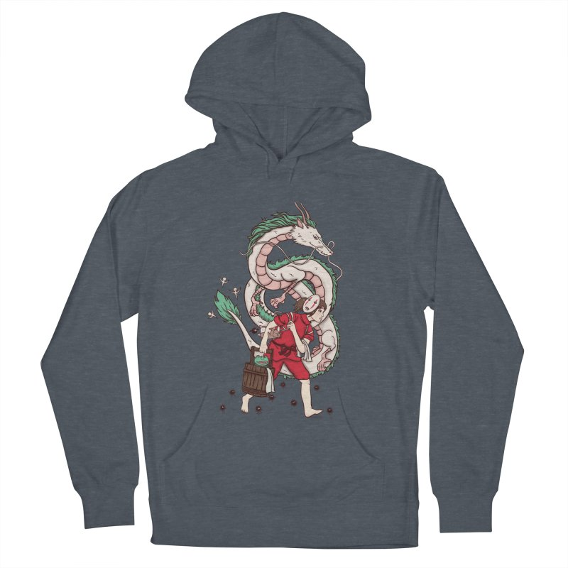 Sen to the rescue Men's French Terry Pullover Hoody by xiaobaosg