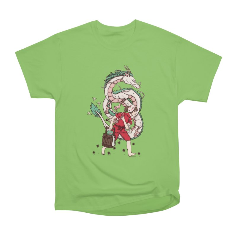 Sen to the rescue Women's Heavyweight Unisex T-Shirt by xiaobaosg
