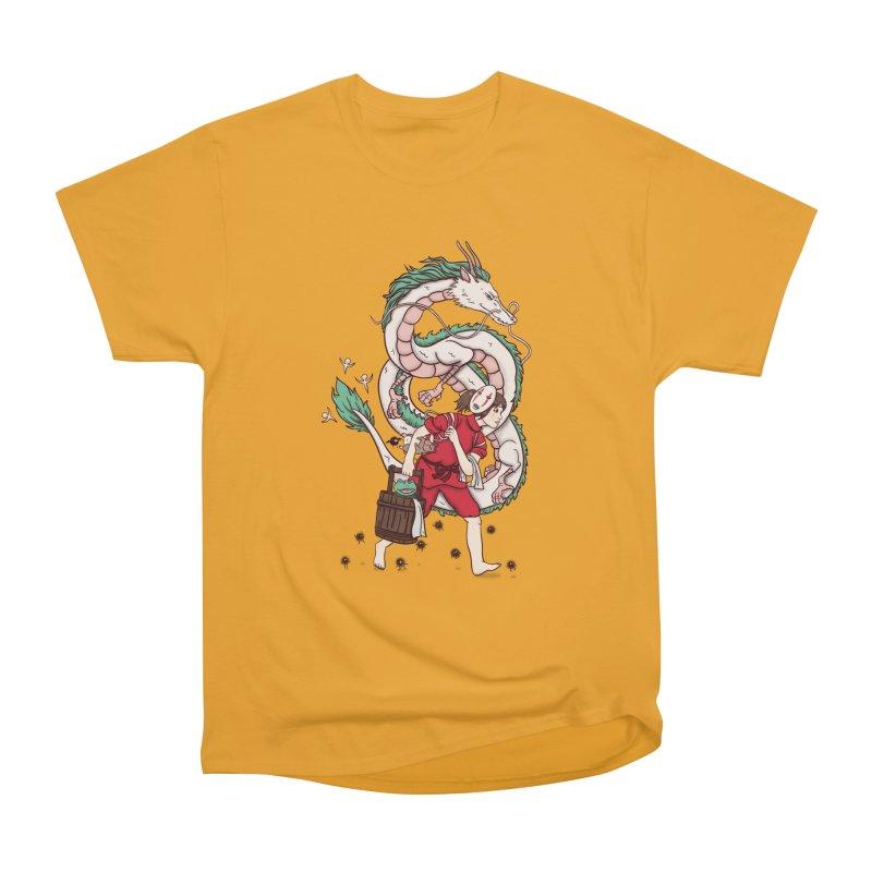 Sen to the rescue Men's Heavyweight T-Shirt by xiaobaosg