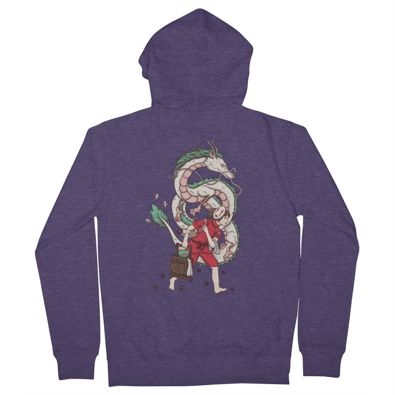 Sen to the rescue Men's French Terry Zip-Up Hoody by xiaobaosg