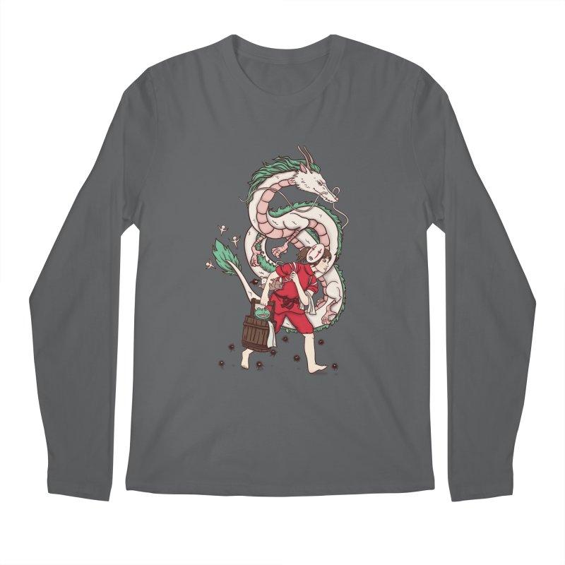 Sen to the rescue Men's Regular Longsleeve T-Shirt by xiaobaosg
