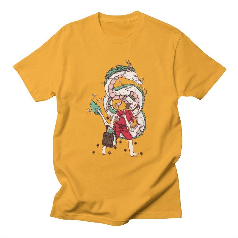 Sen to the rescue Women's Regular Unisex T-Shirt by xiaobaosg
