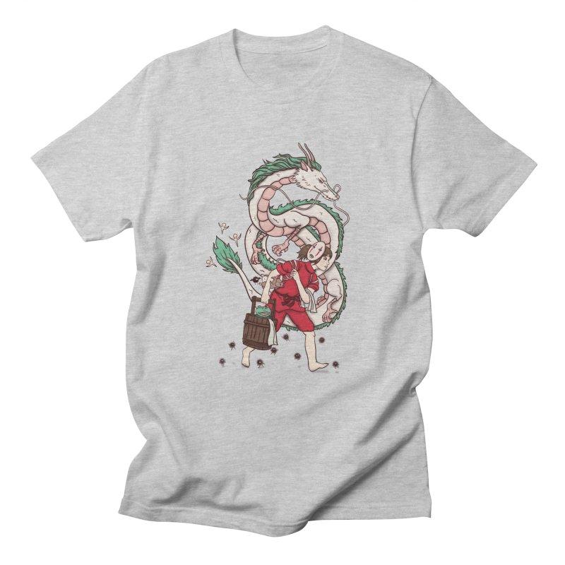 Sen to the rescue Men's Regular T-Shirt by xiaobaosg