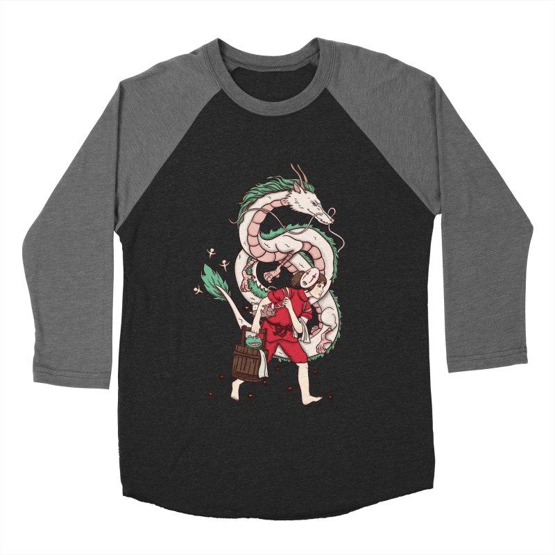 Sen to the rescue Women's Baseball Triblend Longsleeve T-Shirt by xiaobaosg