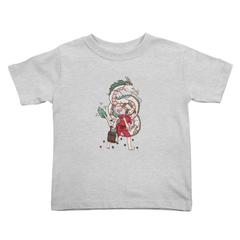 Sen to the rescue Kids Toddler T-Shirt by xiaobaosg