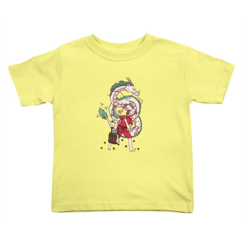 Sen to the rescue Kids Toddler T-Shirt by xiaobaosg