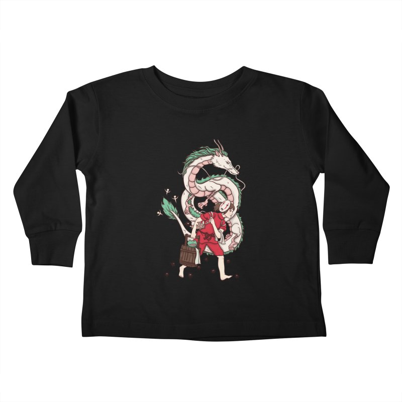 Sen to the rescue Kids Toddler Longsleeve T-Shirt by xiaobaosg