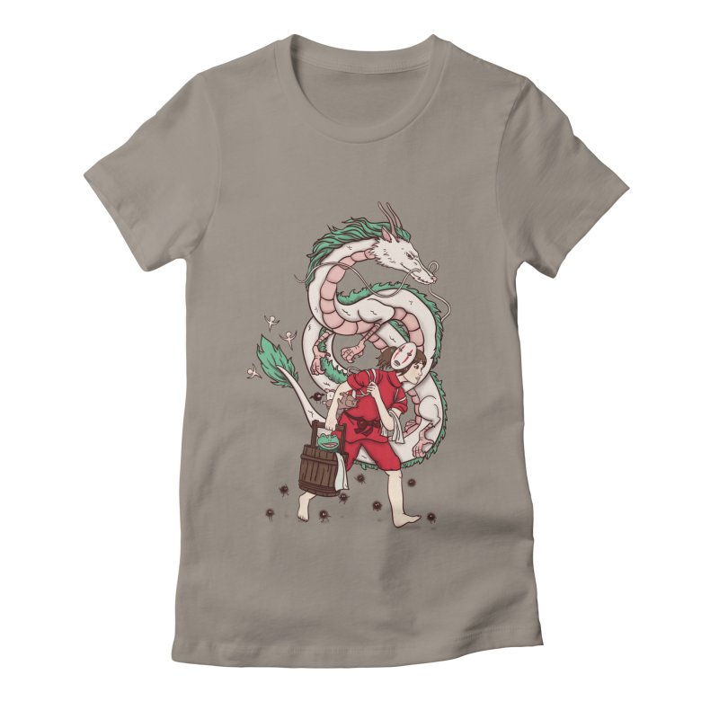 Sen to the rescue Women's Fitted T-Shirt by xiaobaosg