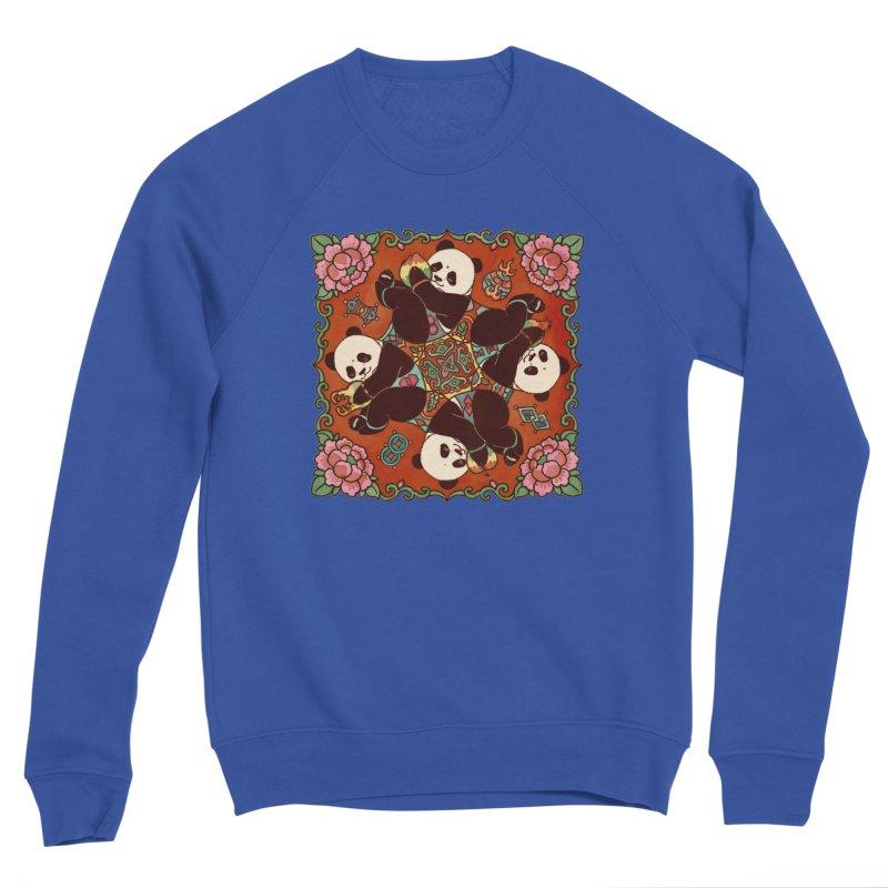 Good Luck and Happiness Men's Sponge Fleece Sweatshirt by xiaobaosg