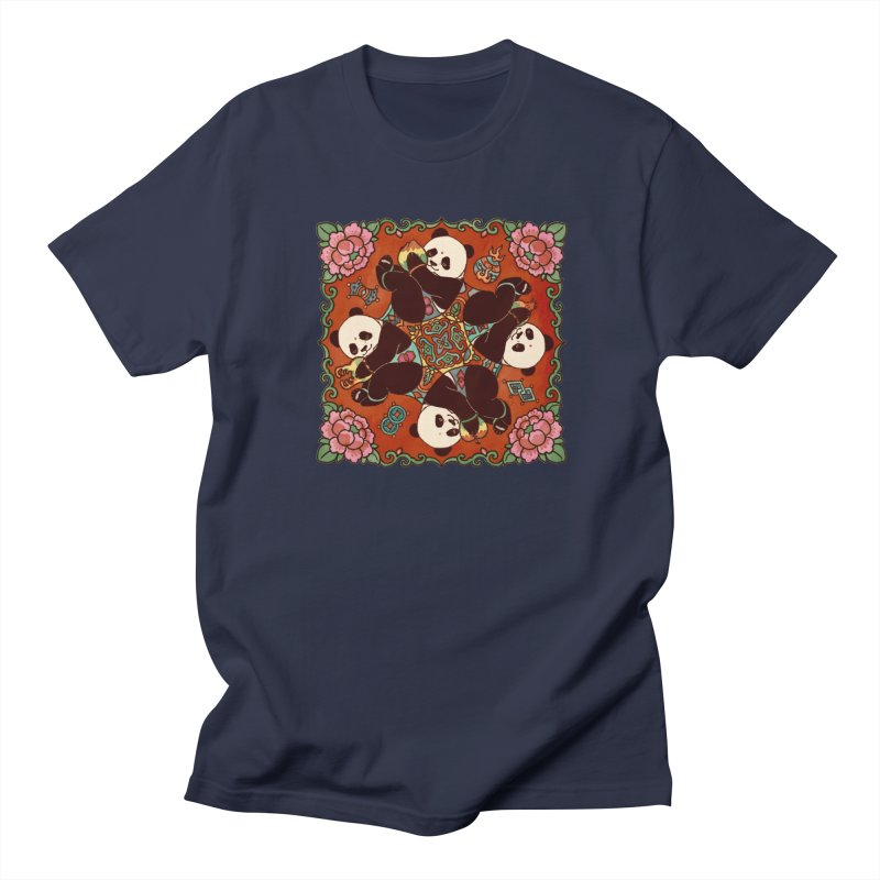 Good Luck and Happiness Men's Regular T-Shirt by xiaobaosg