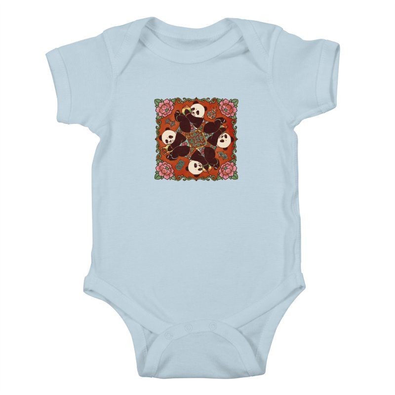 Good Luck and Happiness Kids Baby Bodysuit by xiaobaosg