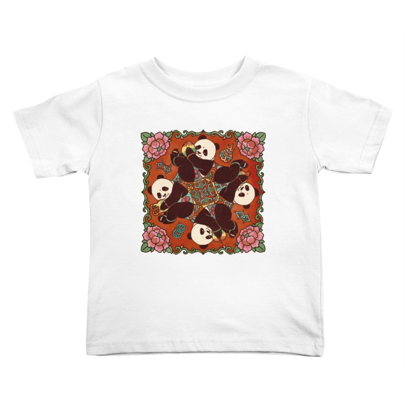 Good Luck and Happiness Kids Toddler T-Shirt by xiaobaosg