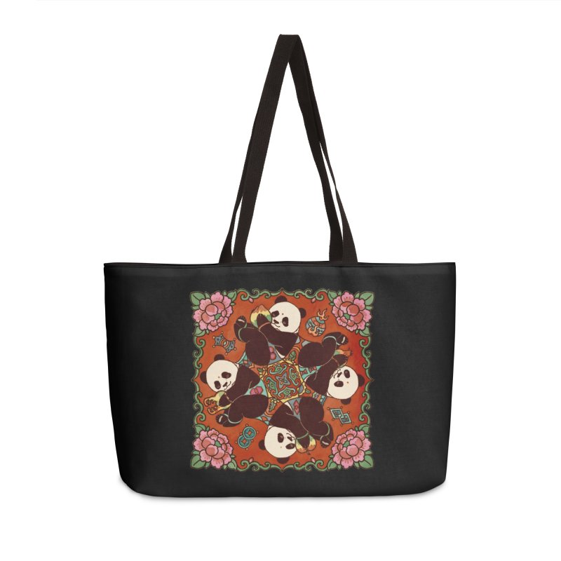 Good Luck and Happiness Accessories Weekender Bag Bag by xiaobaosg
